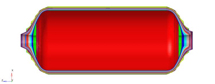 CFK-Drucktank Type 4