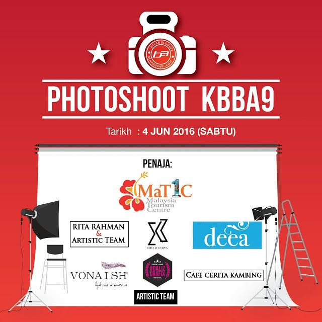 Photoshoot KBBA9 di Matic, Jalan Ampang