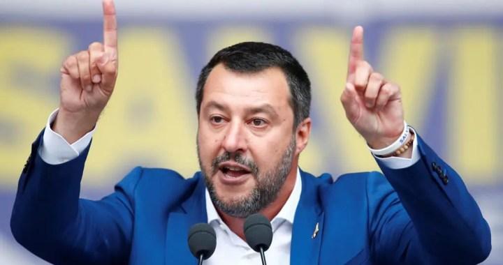 Salvini e la gaffe su Rocky – video