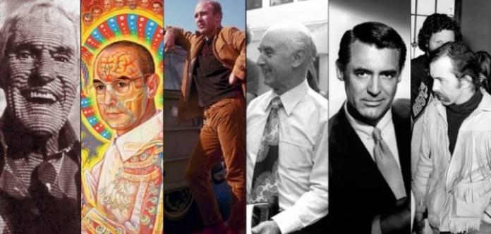 LSD kullanan bazı ünlü isimler