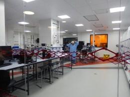 Sheffield University Diamond - engineering lab