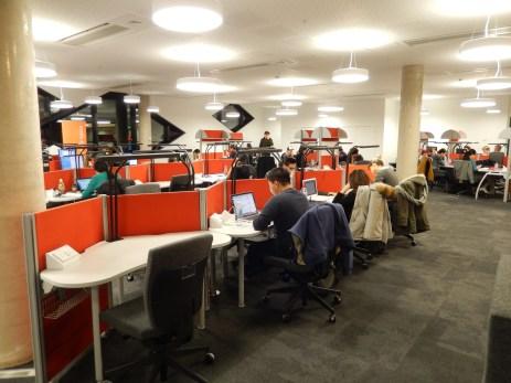Sheffield University Diamond - study desks