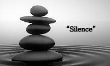 silence with rocks cropped
