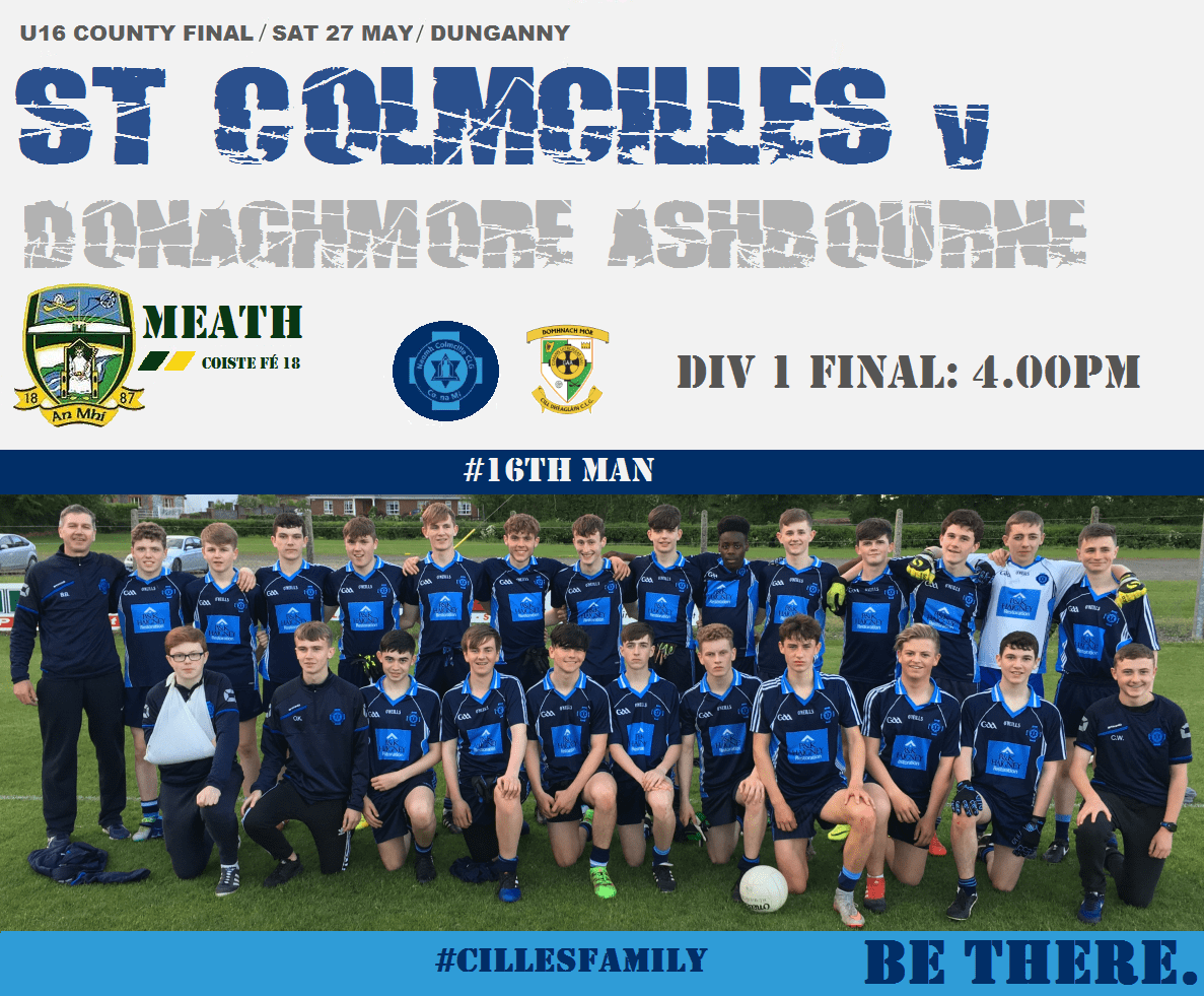 U16 Div1 Final This Sat – 16th Man Needed