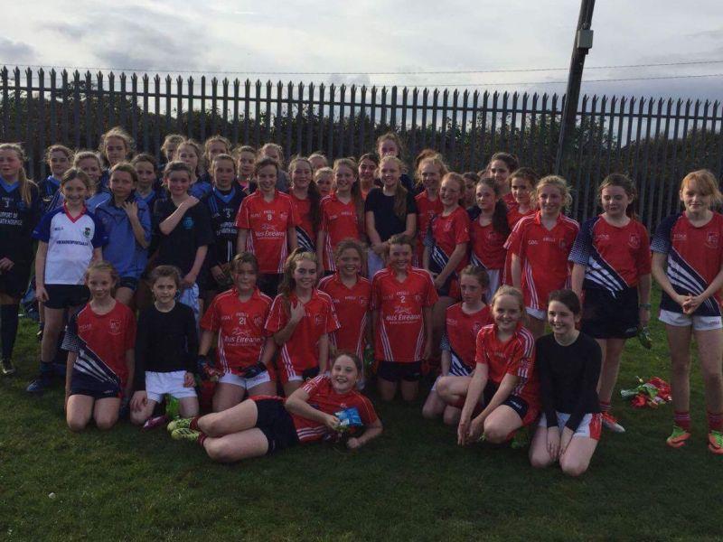 Under 11 Girls Play Challenge In Seafield