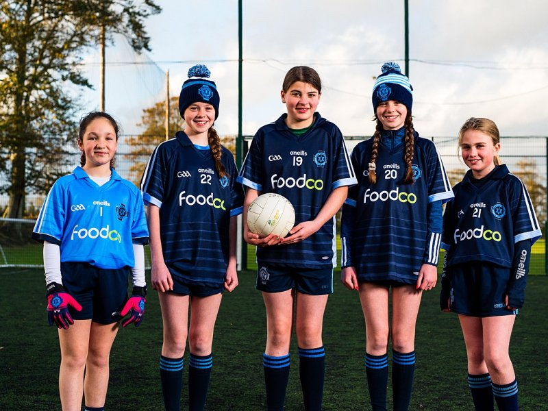 Thanks From The U11 Girls To Alan Kelly From FoodCo