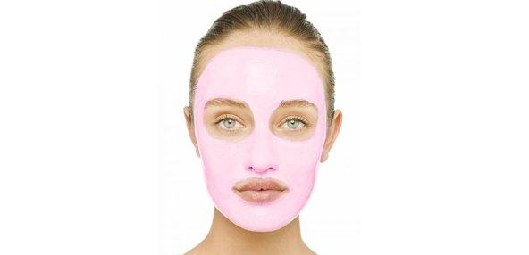 Evde Pembe Maske Yapımı
