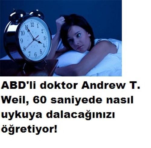60 saniyede uyumak için 4-7-8 yöntemi