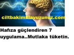 Hafızayı güçlendirmek için 7 uygulama