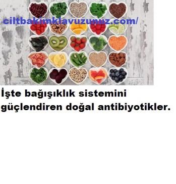 Bağışıklık Sistemini Güçlendiren Doğal ANtibiyotikler