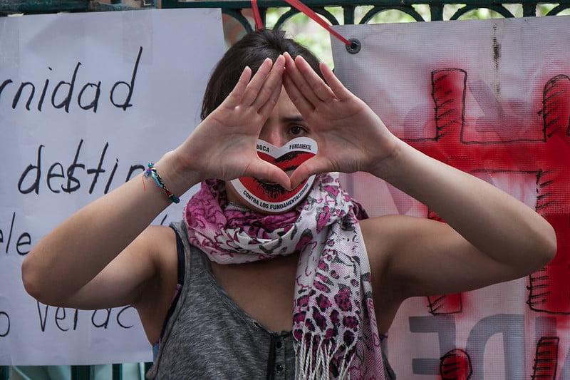 Por el #DerechoADecidir de las mujeres en Veracruz