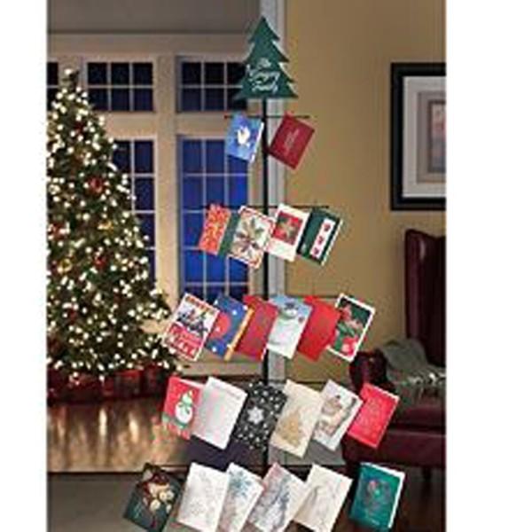 Metal Christmas Card Holder