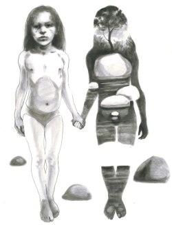 Magali Cazo dessin artonpaper