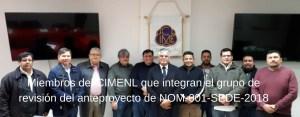Grupo De Revision De NOM 001