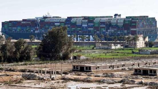 埃及要求释放这艘船前要求赔偿十亿美元 Anue Juheng-国际政治经济学