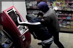 Watch Thieves Wrench Open a Bitcoin ATM – Leaving a Regular ATM Intact 101