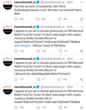 Hacking of PM Modi Happened at Bad Time for Indian Crypto Industry 102