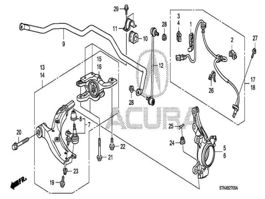 Acura Rdx How To Replace Wheel Hub And Bearings