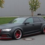 Audi A6 Avant Looks Sinister With New Bodykit And Wheels Audiworld