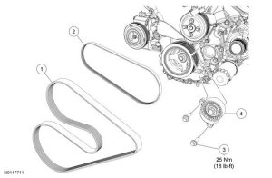 Ford F150 F250 Replace Serpentine Belt How to   Fordtrucks