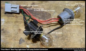 Honda Civic How to Install Rear Fog Lamp  HondaTech