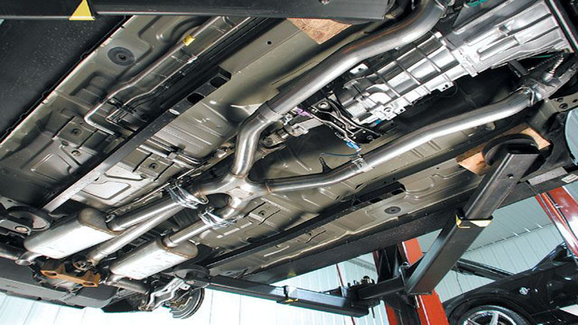 ford mustang v6 2005 2014 exhaust