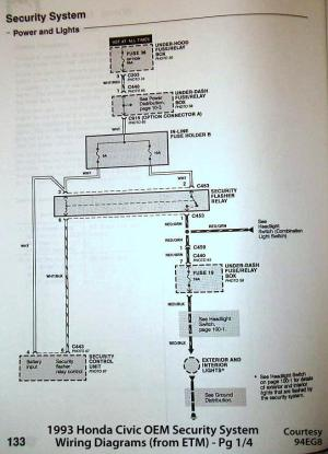 92 Accord EX security system wiring diagram needed ASAP  HondaTech  Honda Forum Discussion
