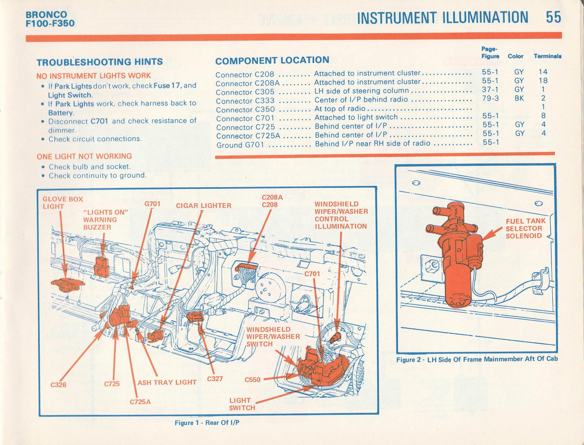 F100 Gauge Cluster Wiring Diagram