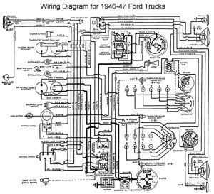 Wiring diagram 1946  Ford Truck Enthusiasts Forums