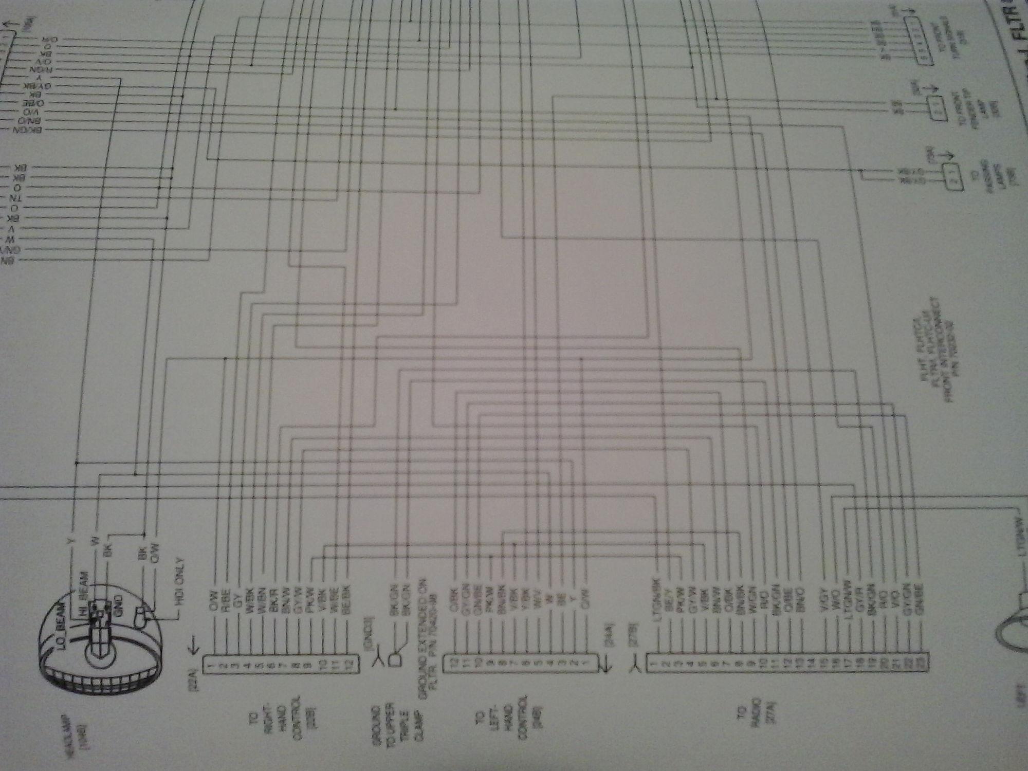 02 04 Road King Wiring Harness Help Please