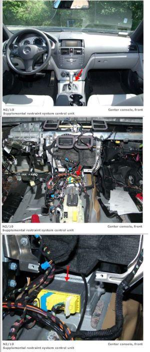 Service manual [Replace 2010 Jaguar Xf Air Bag Module