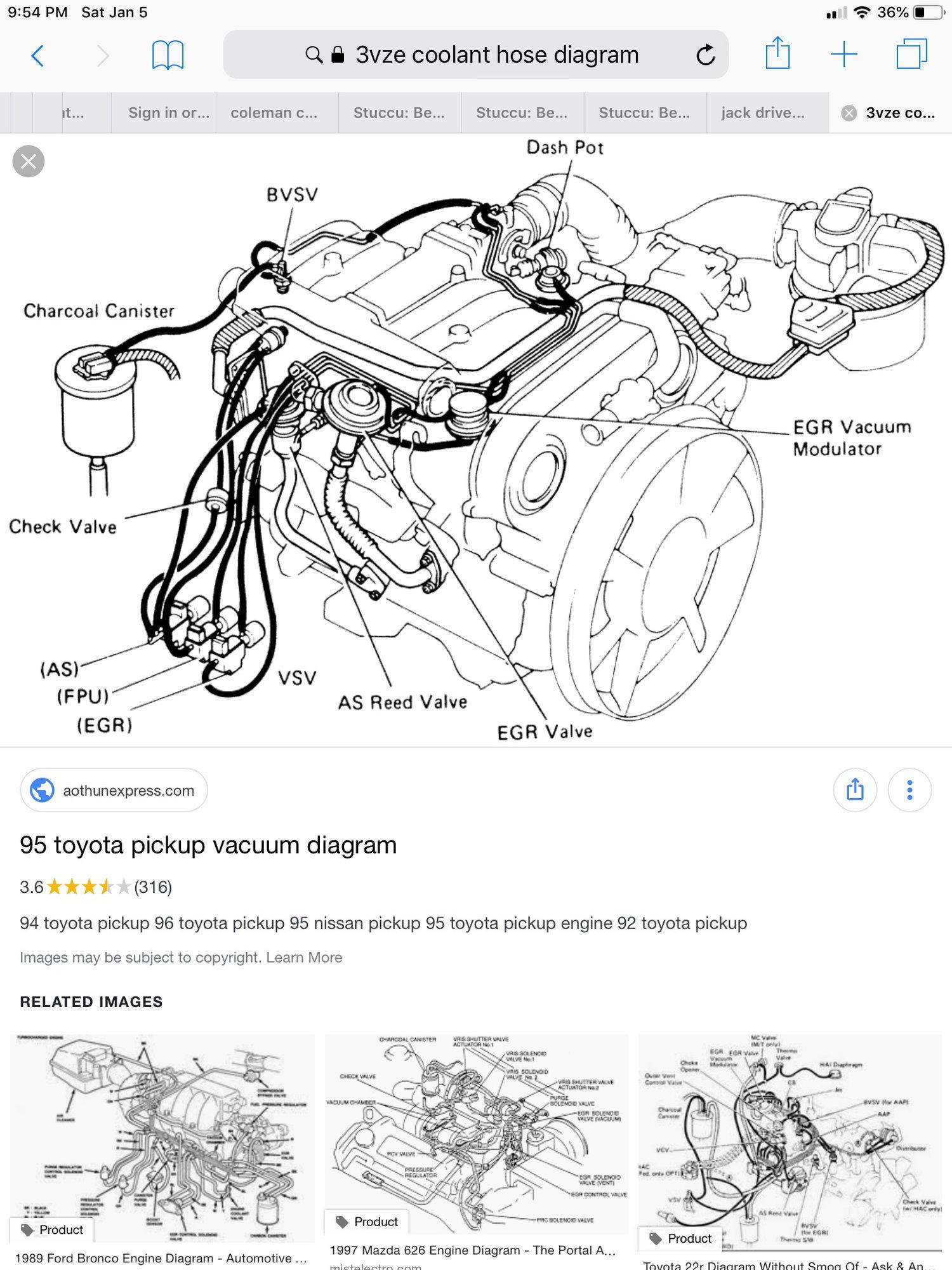 Mazda 626 Vacuum Hose Diagram
