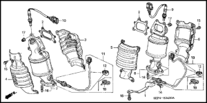 Acura TL 2004 to 2008 How to Replace Oxygen (O2) Sensor  Acurazine