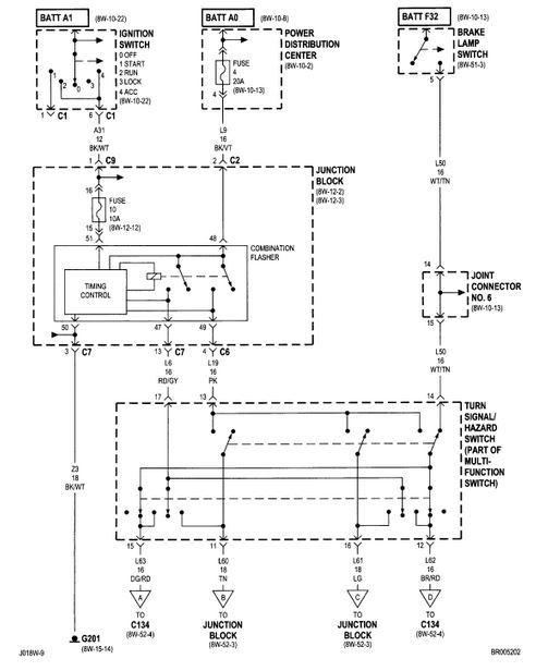 Turn Signal Wiring Diagram For A 2000 Dodge Grand Caravan Wiring – Dodge Mins Wiring