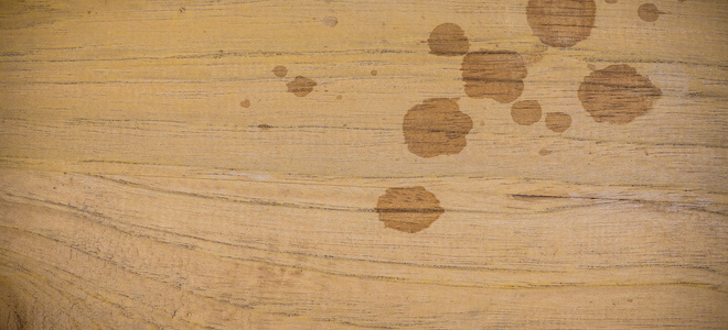Stained And Blemished Wood Repair