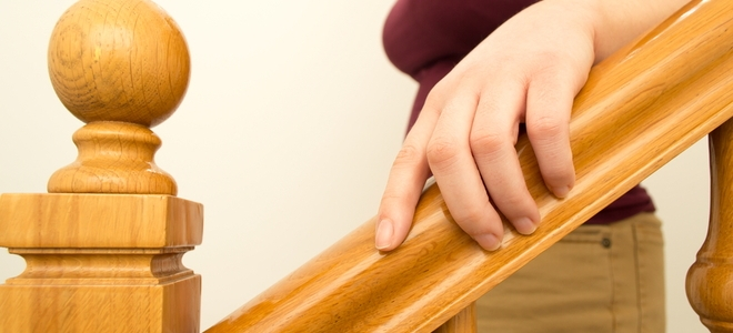 How To Restain A Wood Banister Doityourself Com | Cost To Refinish Wood Railing | Stair Treads | Interior | Gel Stain | Paint | Balusters