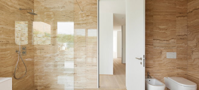 install a frameless glass shower door