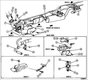 Ford Super Duty: How to Replace Catalytic ConverterDiesel