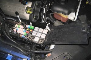 Ford Mustang V6 and Ford Mustang GT 20052014 Fuse Box