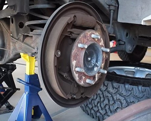 Removal Rear Axle Bearing Tundra Toyota