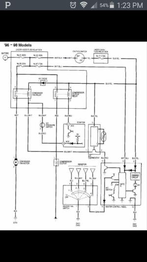 Honda Del Sol Heater Door | Wiring Diagram Database