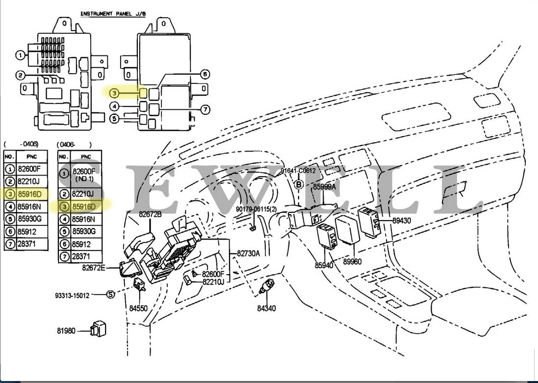 Lexus Gs300 Relay Diagram