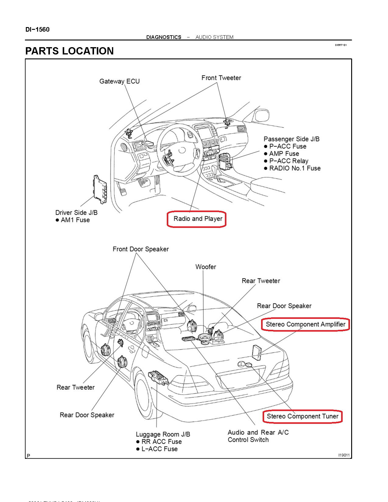 Lexus Gs400 Fuse Box Location