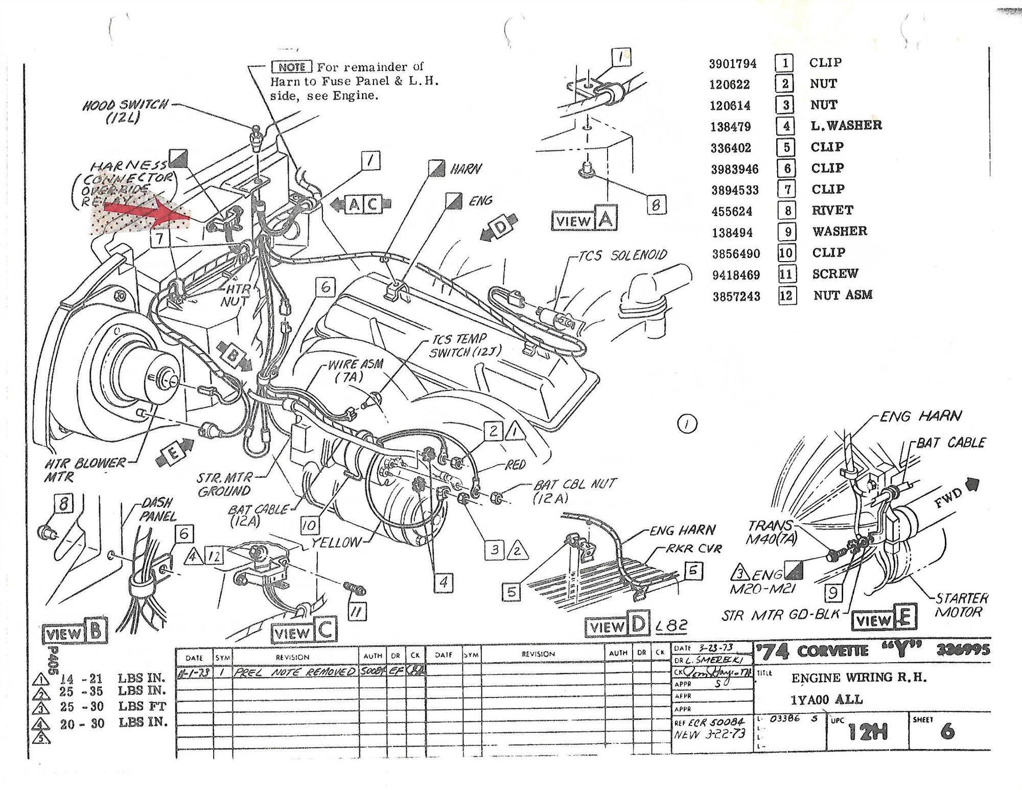 Trying To Figure Out The Engine Compartment Wiring