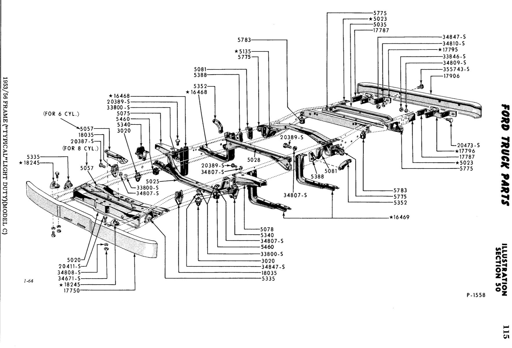 New Chassis For 53 56 F100