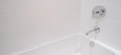 How To Apply Peel And Stick Vinyl Tiles To Bathroom Walls