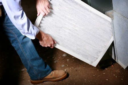 How To Change A Forced Air Furnace Filter