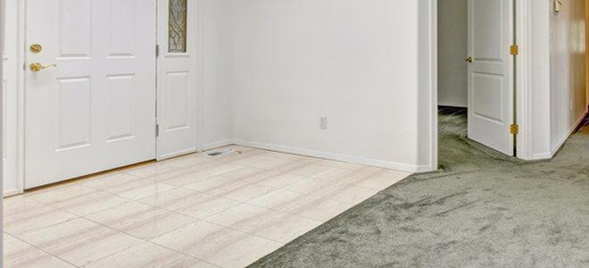 carpet to tile transition