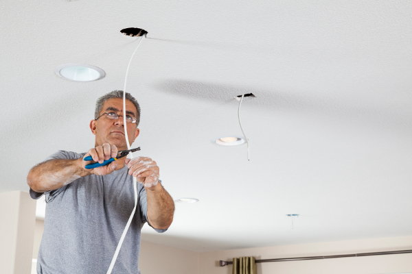 recessed lighting wiring instructions