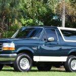 Gorgeous 1993 Bronco Eddie Bauer Deserves Extra Attention Ford Trucks